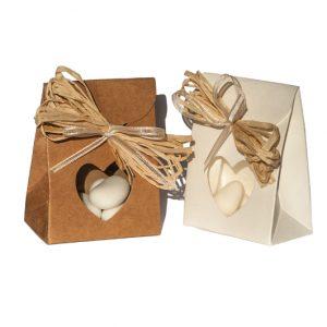 bomboniere solidali scatolina porta confetti