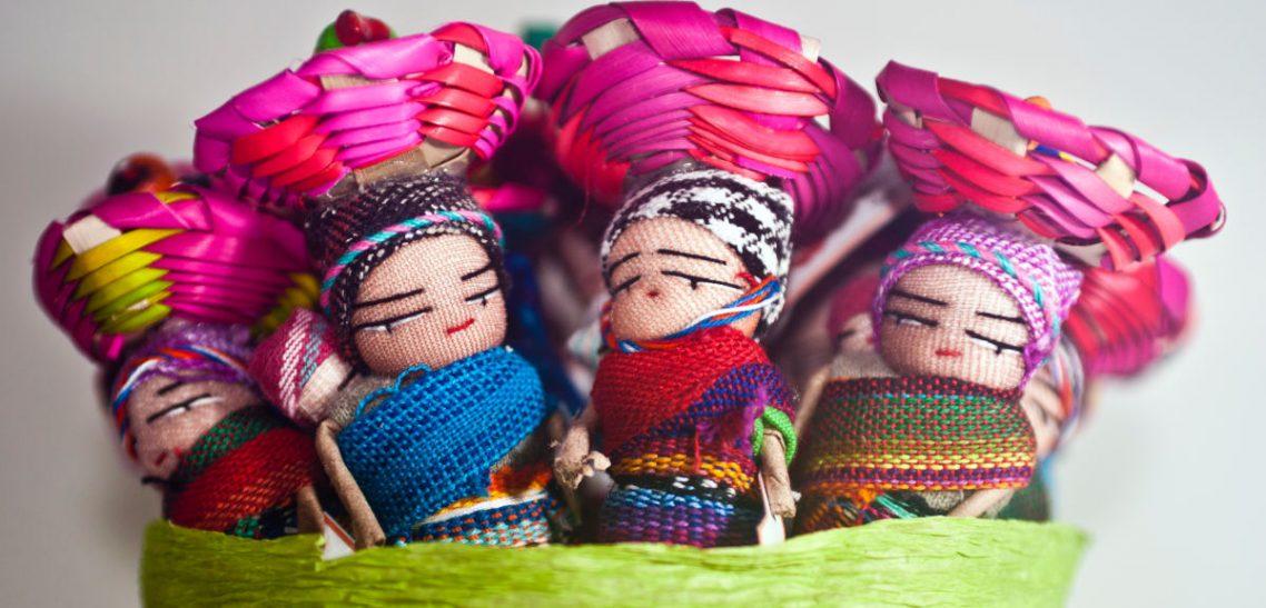 bamboline cestino bomboniere