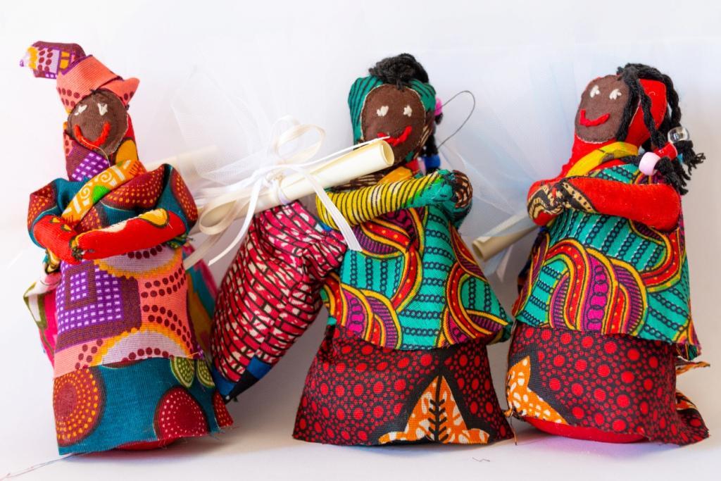 bomboniere africane con magnete