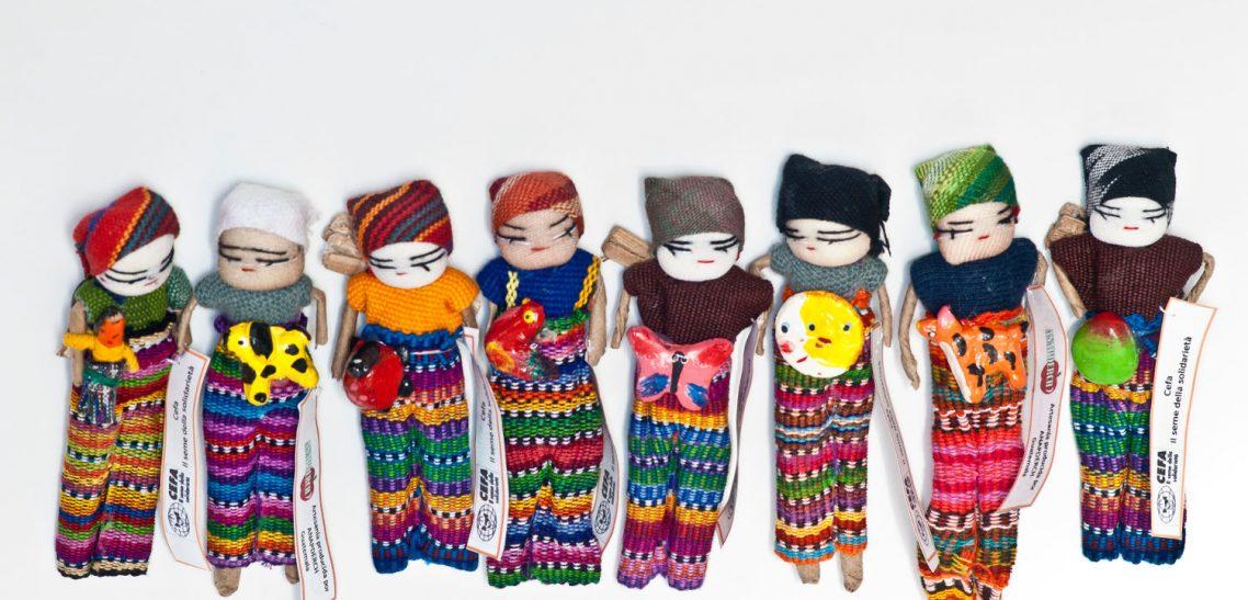 serie di bamboline bomboniere eventi